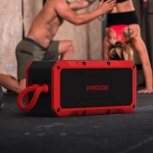 Typhoon - Portable Wireless Speaker - Red