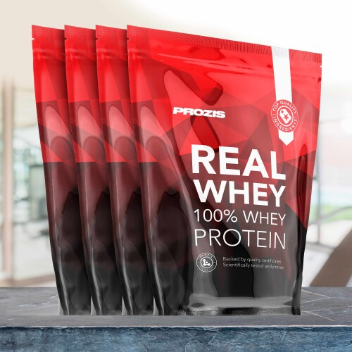 4 x 100% Real Whey Protein 400 g