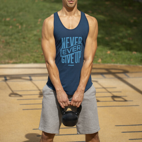 Power Up Tank Top - Never Ever Give Up