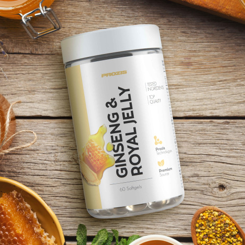 Ginseng + Royal Jelly 60 softgels