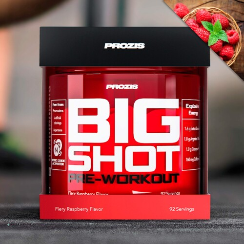 Big Shot - Pre-Workout 92 servings