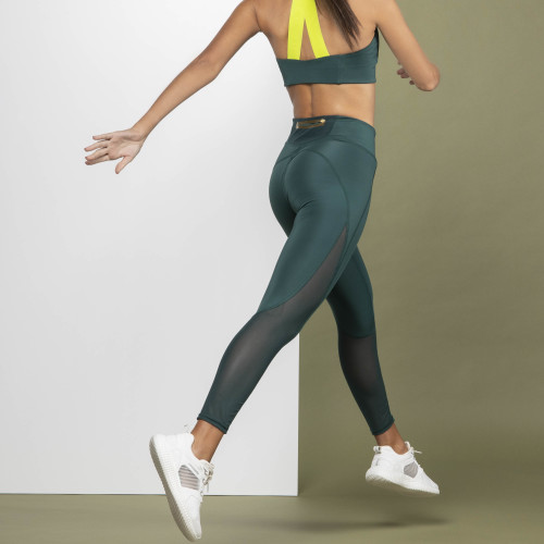 Leggings X-Sense Longan - Green