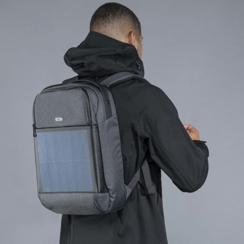 Solar Backpack - Volt Black