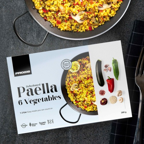 Dehydrated Paella - 6 Vegetables 280 g - 2 servings