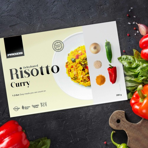 Dehydrated Risotto - Curry 280 g - 3 servings