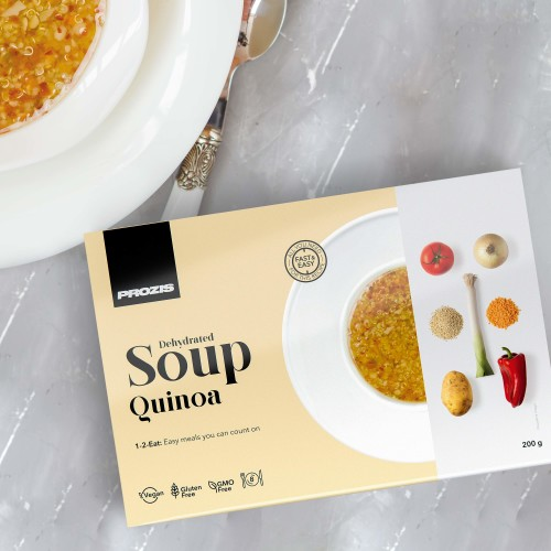 Dehydrated Soup - Quinoa 200 g - 8 Portionen