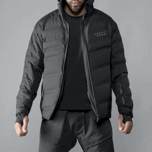 Peak Down Jacket - Magma Black