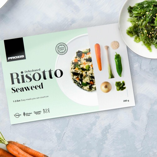Dehydrated Risotto - Seaweed 280 g - 3 servings