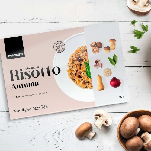 Dehydrated Risotto - Automne 280 g - 3 portions