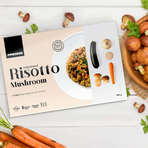 Dehydrated Risotto - Champignons 280 g - 3 portions