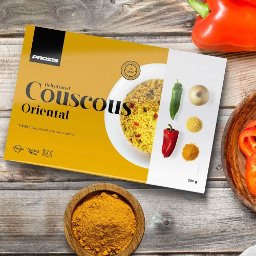 Dehydrated Couscous - Oriental 300 g - 4 servings