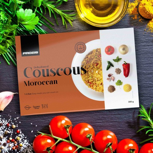 Dehydrated Couscous - Marroquino 300 g - 4 porções