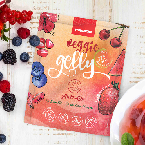 Veggie Gelly - Anti-Ox 15 g Frutti Rossi