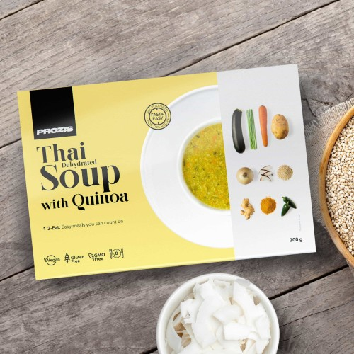 Dehydrated Soup - Thaï avec Quinoa 200 g - 8 portions