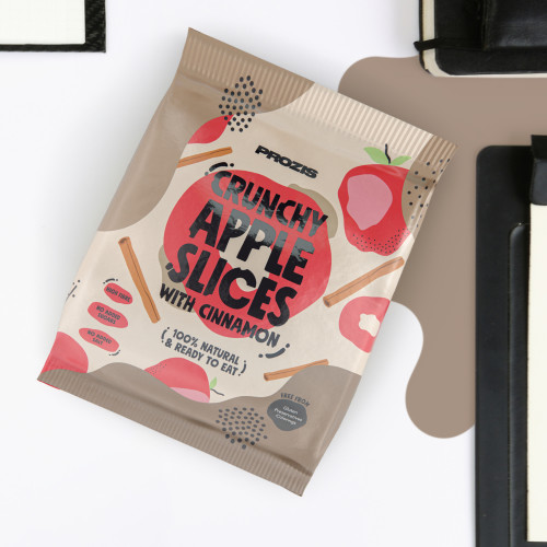 Knusprige, rote Apfel-Zimt-Chips 20 g