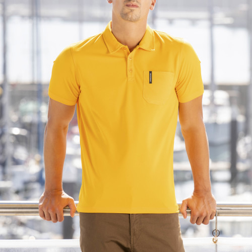 Breezy Men Polo - Yellow
