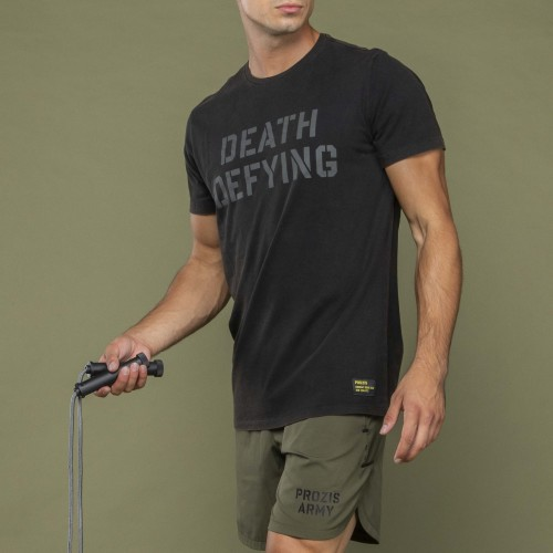 Army T-Shirt - Death Defying Black