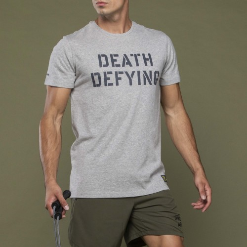 Army T-Shirt - Death Defying Grey
