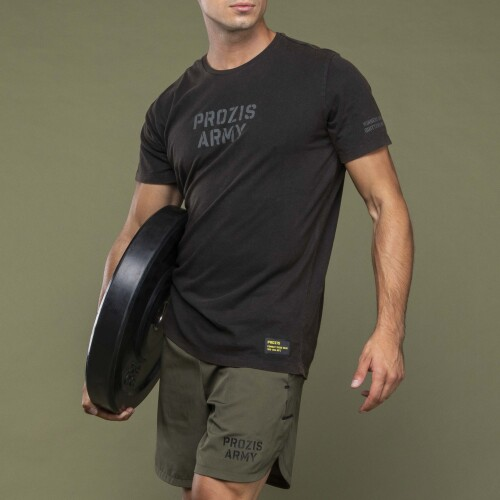 Army T-Shirt - Winners Black