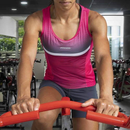 X-Cycle Spinning Singlet - Pro W Fierce Magenta