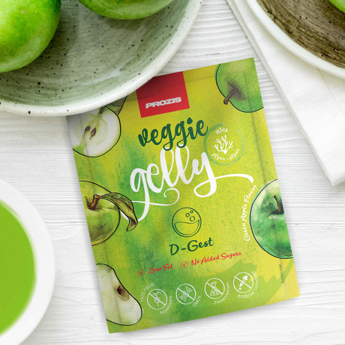 Veggie Gelly - D-Gest 15 g Green Apple