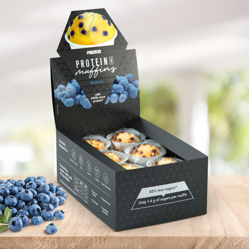 12 x Protein Mini Muffins - Blueberry 30 g