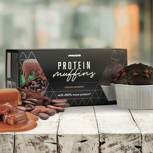 2 x Protein Muffins - Cocoa-Caramel  60 g