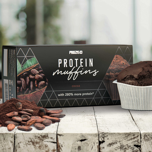2 x Protein Muffins - Cocoa 60 g