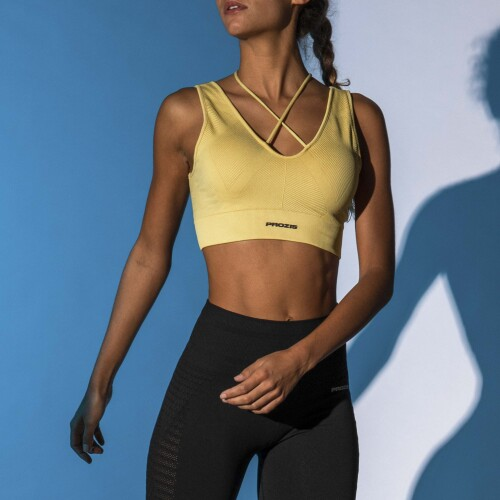 X-Skin Libra 2.0 Sports Bra - Misted Yellow