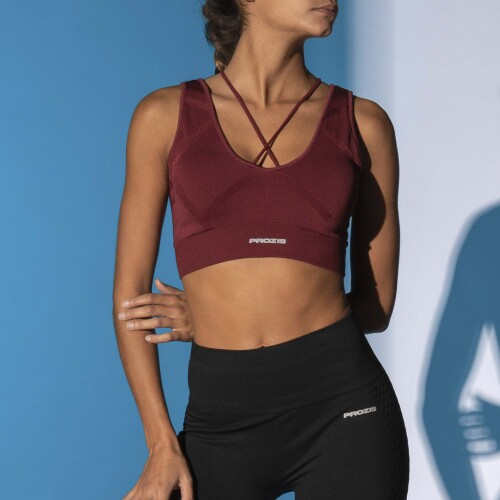 X-Skin Sports Bra - Draco 2.0 Biking Red
