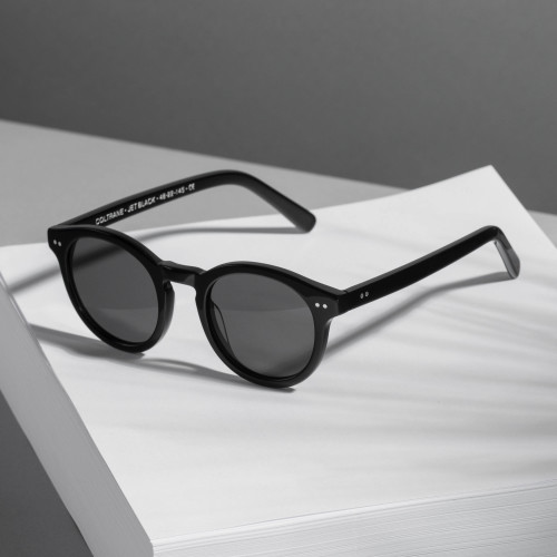 Coltrane Sunglasses - Jet Black