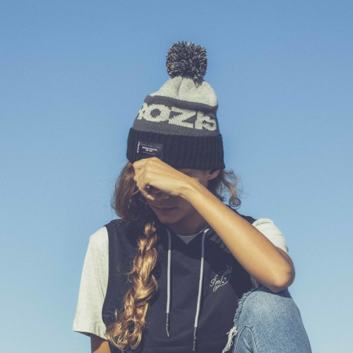 X-College Beanie - Downey Black