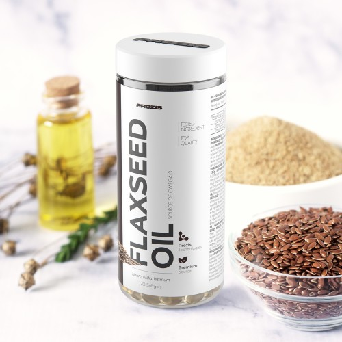Flaxseed Oil 1000mg 120 softgels