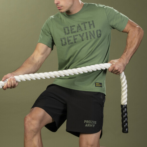 T-Shirt Army - Death Defying Green