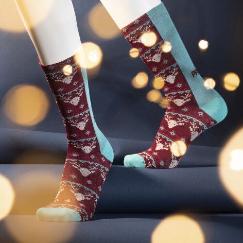 Chaussettes B-Style - Xmas Rudolph