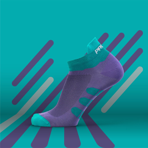 B-Active Trainings-Socken - Solo Purple