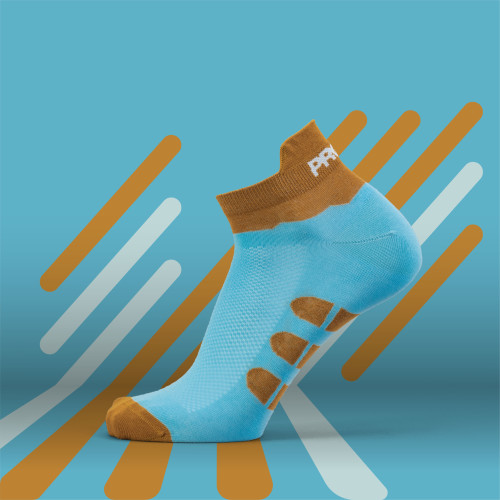 B-Active Training Socks - Solo Aqua