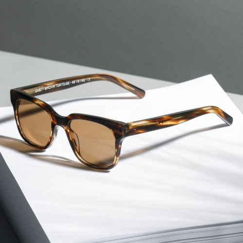 Chet Sunglasses - Brown Tortoise