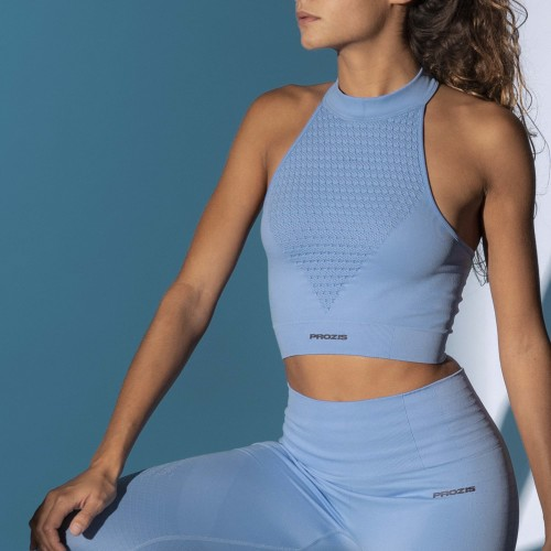 X-Skin Sports Bra - Apis Vista Blue