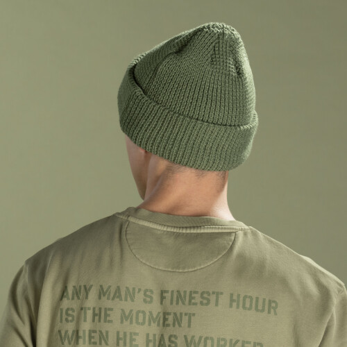 Bonnet Army - Snowstorm Olive Green
