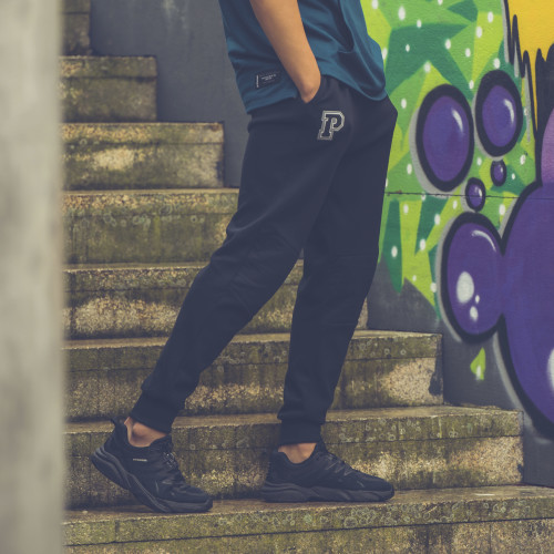 X-College Joggers - Brawley Black