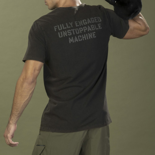 T-Shirt Army - Unstoppable Black
