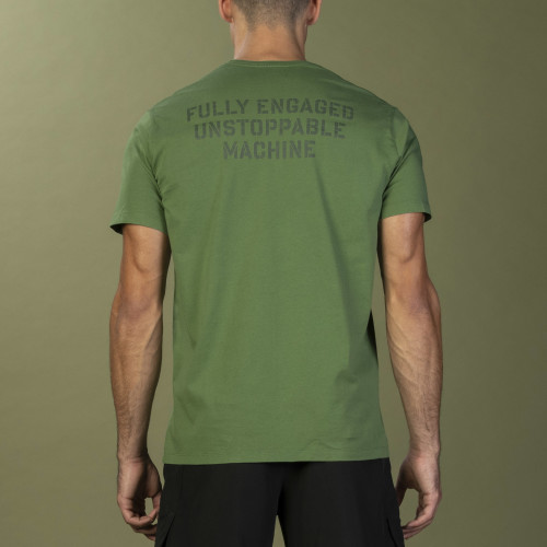 T-Shirt Army - Unstoppable Green