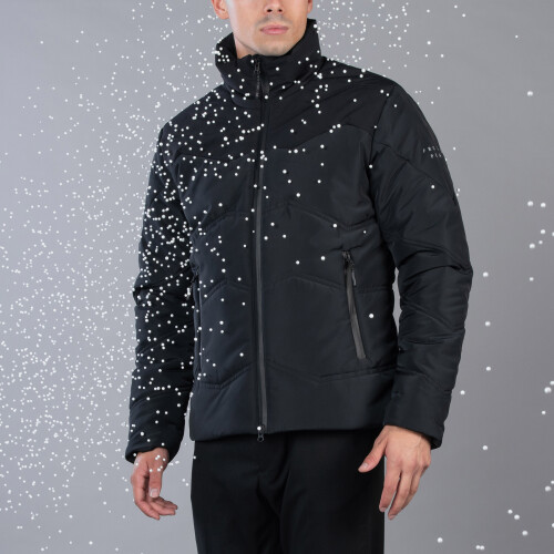 Peak Puffer Jacket - Summit Black