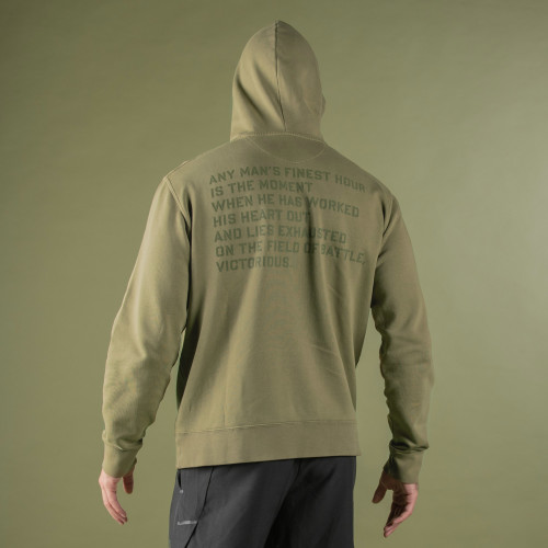 Sweat à capuche Army - MMVII Khaki