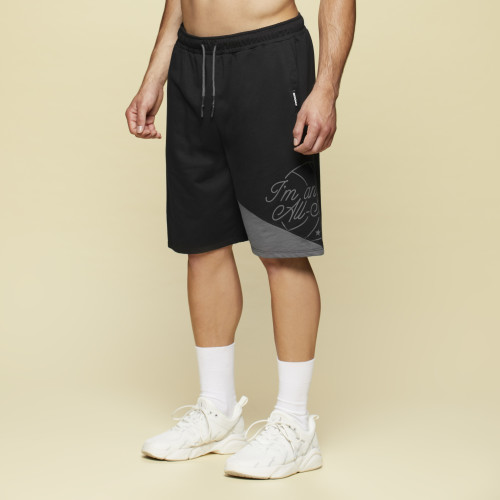 X-College Shorts - Felton Black