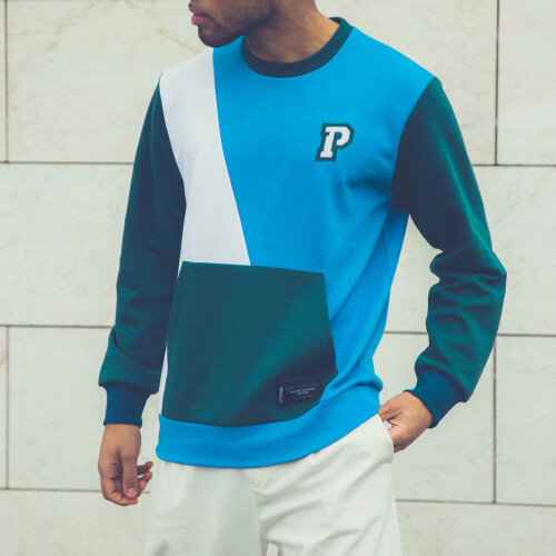 Sweatshirt X-College - Campustown Blue