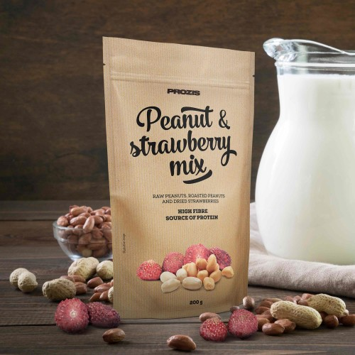 Peanut & Strawberry Mix 200 g