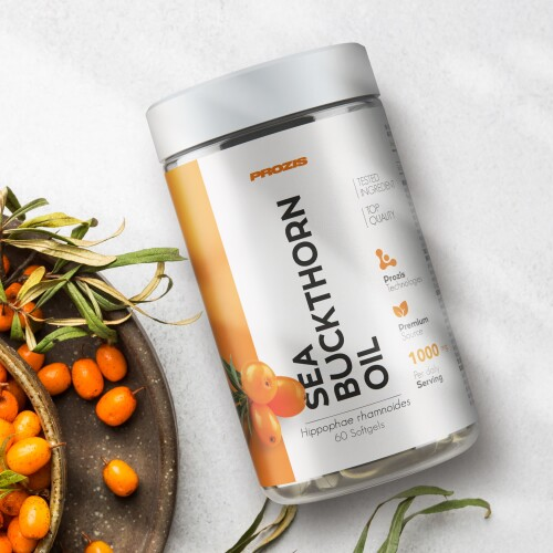 Sea Buckthorn Oil 1000 mg 60 softgels