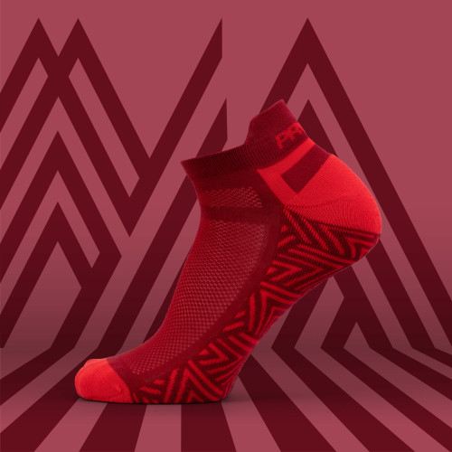 B-Active Trainings-Socken - Belay Red